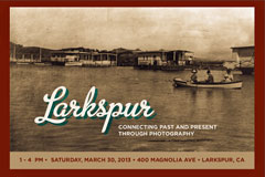 Larkspur Past and Present is on sale at Marin Country Mart on Dec. 1 and 8 from 9am-2pm